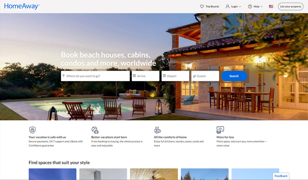 HomeAway: The Best Alternative Apartment Finder