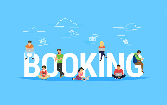 What is online booking system?